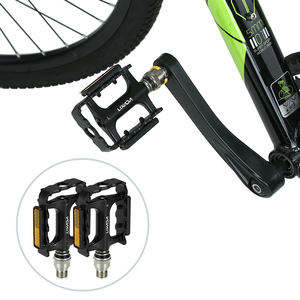 Image 4 - Lixada MTB Road Bike Bicycle Cycling Pedals Bike Quick Release Pedals Bicycle Cycling Platform Pedal with Pedal Extender Adapter