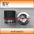 D1146T D1146 комплект поршневых и поршневых колец для экскаватора Doosan DH300-5 DH220-3