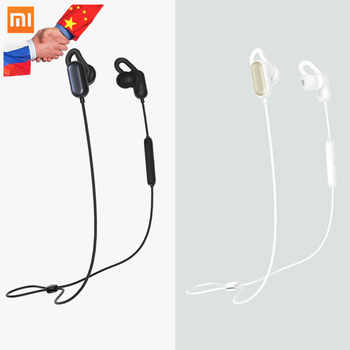 Xiaomi Mi Sport Bluetooth Headset Youth Edition Earphone BL4.1 Wireless Earpieces Sport Running AI Control 2018 Xiomi Headsets - DISCOUNT ITEM  26% OFF Consumer Electronics