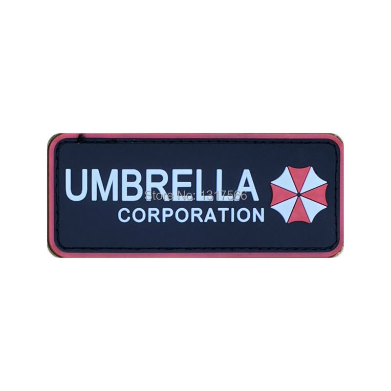 Arts,crafts & Sewing Apparel Sewing & Fabric Nice Resident Evil Series Umbrella Corporation Pvc Badge Rubber Badges 3d Patch Applique For Clothing Cap Accessories