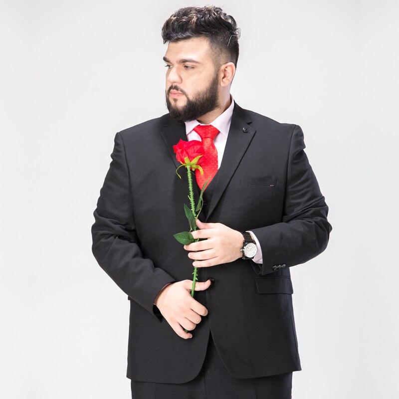 Mens black 6XL 7XL 8XL 9XL 9xl suit blazer Formal high quality men blazer very big dress suit wedding Formal plus size