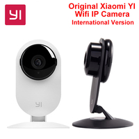 International Edition Xiaomi YI Camera Home Surveillance Camera Night Vision Wireless Wifi IP Camera 1080P For