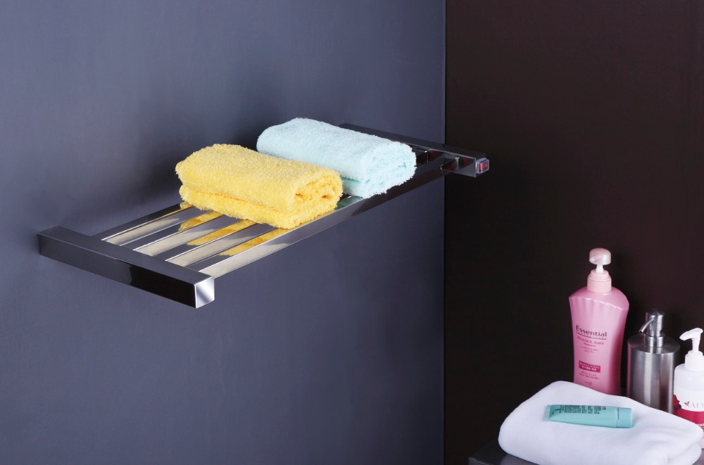 304# Stainless Steel Heated Towel Rail Electric Single Layer Towel Warmer Wall Mounted TW-SQ17 цена и фото