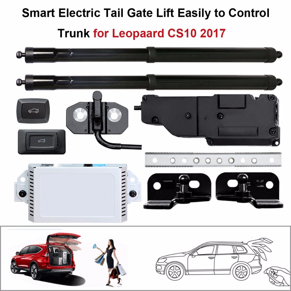 Electric Tail Gate Lift for Leopaard CS10 2017 Control by Remote