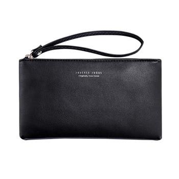 Fashion women's clutches PU Leather Zipper Wallet Simple handbags for women 2018 Waterproof clutch female women leather handbags