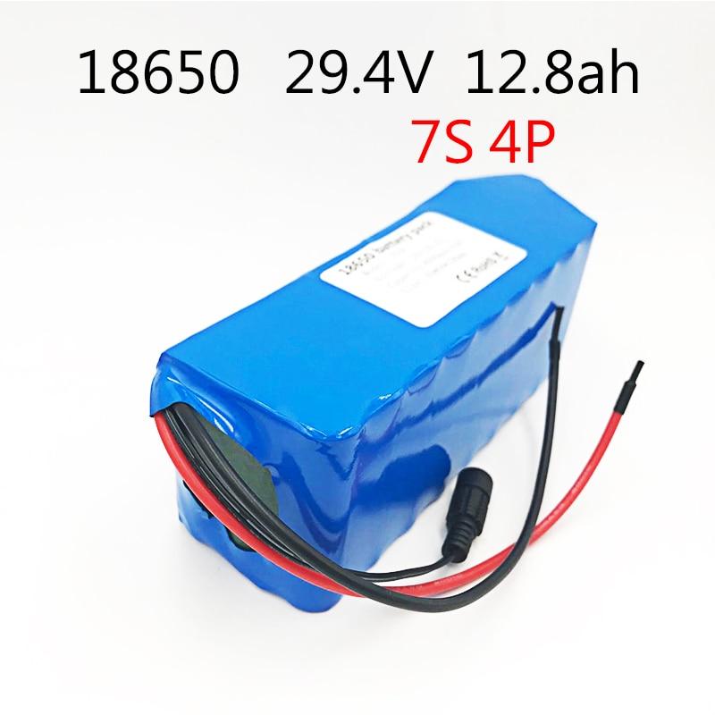 Battery Packs Logical Laudation Dc 24v 12.8ah 7s4p Batteries 15a Bms 250w 29.4 V 12800mah Battery For Motor Chair Set Electric Power