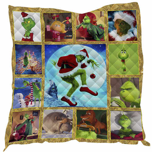SOFTBATFY Christmas Quilt For Kids Adult Bed Soft Warm Blanket Quilt Dropshipping