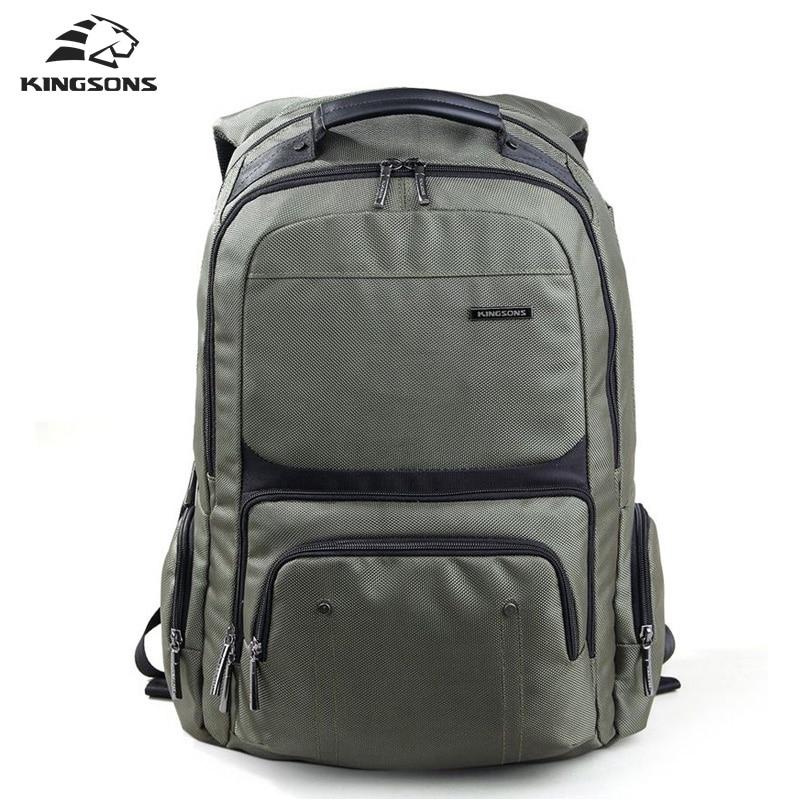 Kingsons Laptop Backpacks Male High Quality Student Notebook Backpack Nylon Bagpack for Men mochila рюкзаки zipit рюкзак shell backpacks