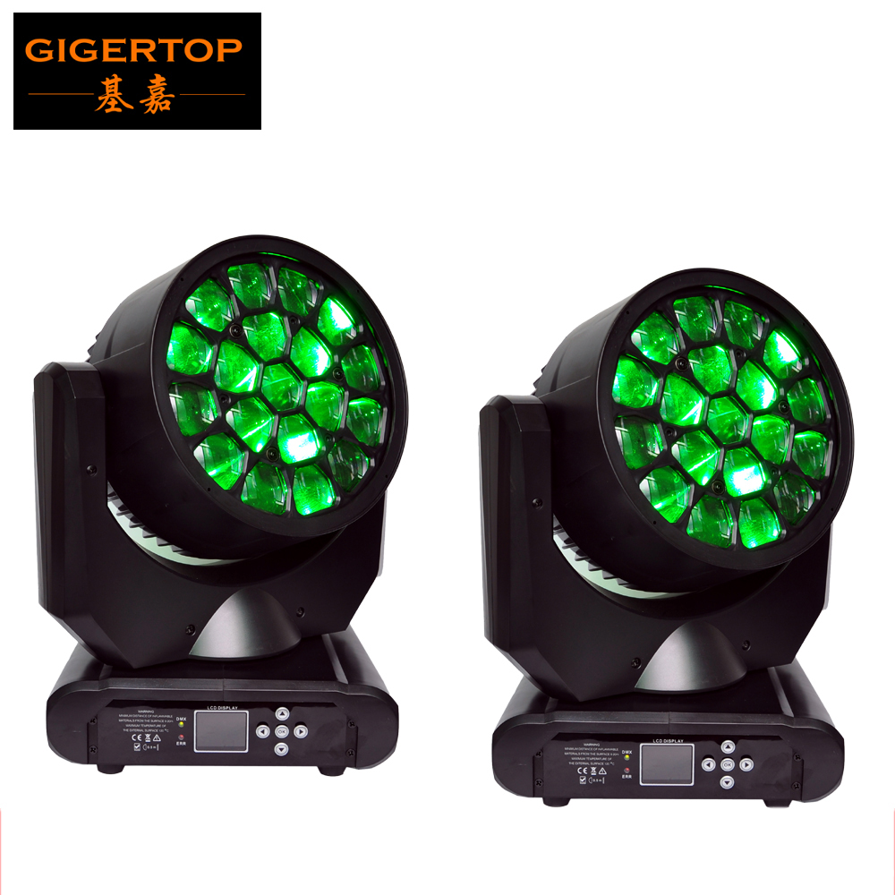 New Hot Sale 2pcs/lot 19*12W 4in1 RGBW LED Big Bee Eye Moving Head Beam+Wash Light, LED Hawkeye Moving Head Beam Light 110-240V roomble подушка с надписью shut that door
