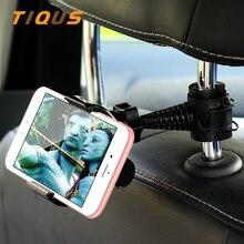 ФОТО car headrest mount holder headtab back seat car hanger mount for cellphone smartphone xiaomi redmi 4x 4a mi5 mi6 note 4x p8 lite