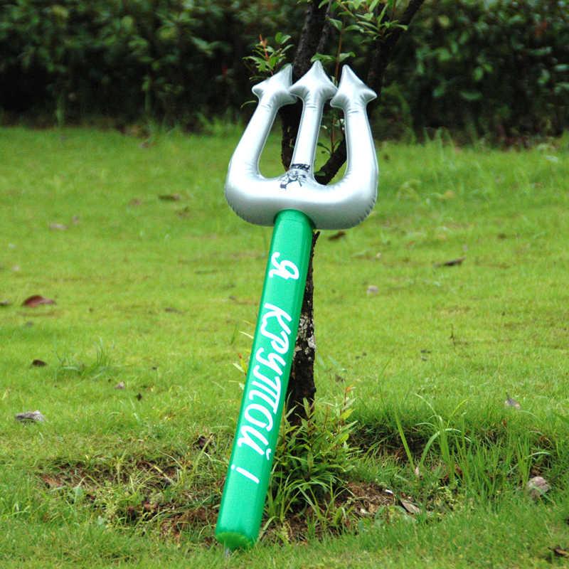 Niños inflables los nuevos juguetes de plástico inflables niños espada artículos decorativos Color al azar armas actividades juguete de Pvc