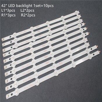 100% New LED Backlight 10PCS For 42inch TV LC420DUE 42LA620V 42LN540V 42LA615V 6916L-1412A 6916L-1413A 6916L-1414A 6916L-1415A