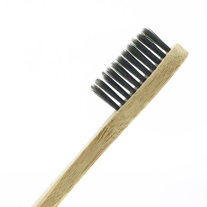 100 Pcs/Lot Bambus Zahnbürste Bambus Holzkohle Zahnbürste Niedrigen Carbon Bambus Griff Zahnbürste Für Erwachsene Umweltfreundliche Zahnbürste-in Zahnbürsten aus Haar & Kosmetik bei  Gruppe 1