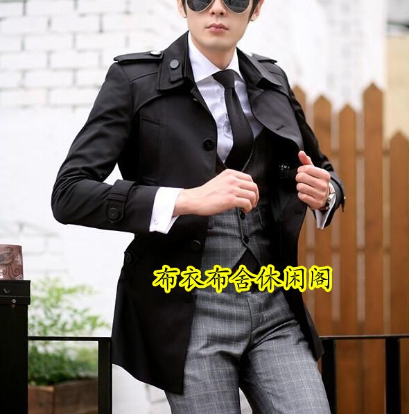 Popular Mens Short Trench Coat-Buy Cheap Mens Short Trench Coat ...