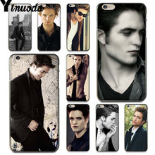 Yinuoda For iphone 7 6 X Case Robert Pattinson Twilight Vampire Esquire  Best Phone Case for 0daca36cbdbd