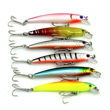 43Pcs/set Fishing Lures Mixed Models 43 Color Mix Minnow Lure Crank Bait Artificial Bait Fishing Lures Fishing Accessories