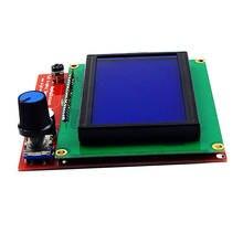Новый ЖК дисплей 12864 умный контроллер адаптер для 3d ramps