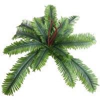 1 Pezzo Cycas palma Albero Artificiale Piante di Seta di Simulazione Erba Giardino Per La Casa Wedding fiori decorativi e corone