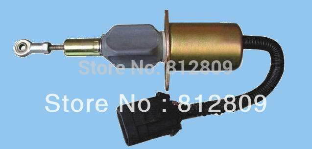 Fuel Shutdown Solenoid Valve 3939018 6CT, SA-4889-12+ fast shipping by TNT,DHL,UPS недорого