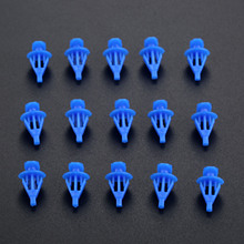 100Pcs Auto Fasteners Car Door Window Sealing Strip Weatherstrip Retainer Clips For VW Kia Honda Toyota Nissan Mazda Universal