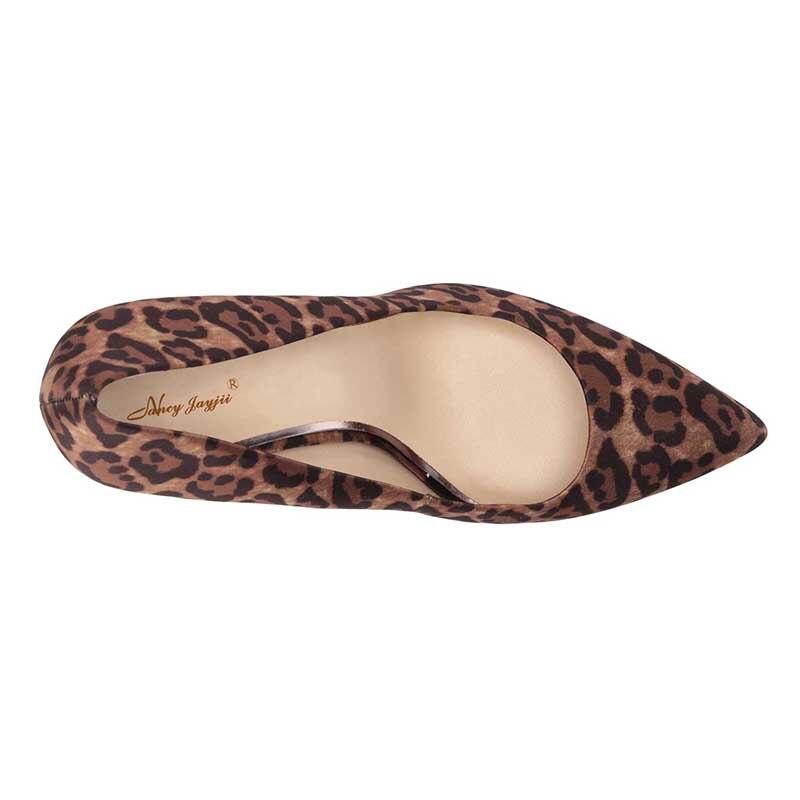 Heels Partei 2019 Pumps Plattform Königin Mode Leopard Nancyjayjii Print 16 Stilettos 15 Sexy Größe snake Plus Schuhe Frauen Pumps Schlange Spitz Paw7UAqwE