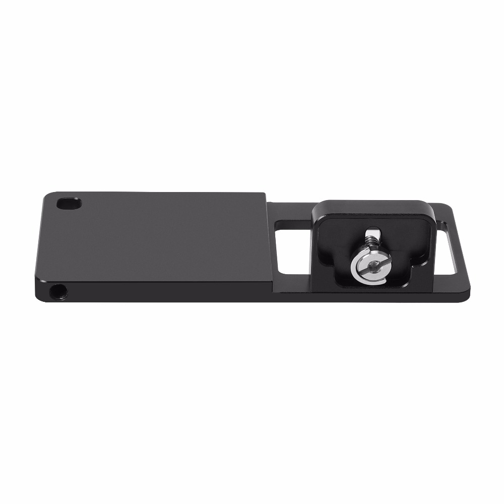 Switch Mount Plate Adapter for Sony DSC-RX0 Camera for DJI Stabilizer for Zhiyun FeiyuTech Mobile Phone Clip Gimbals universal cell phone holder mount bracket adapter clip for camera tripod telescope adapter model c