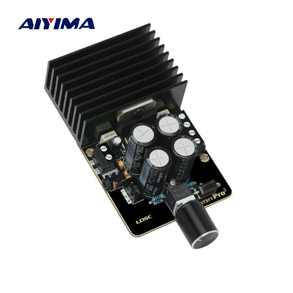 BEST DEAL) AIYIMA DC12V TDA7377 Power Amplifier Board 35Wx2 Class AB