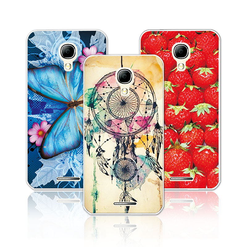 Women Girls Beautiful Floral Soft TPU Case For Alcatel One Touch Pixi 4 5.0 5010D 3G Case, Flowers Back Cover For Alcatel 5010