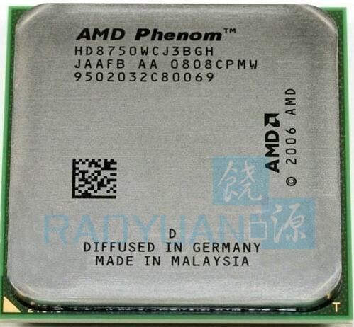 AMD  Phenom X3 8750 Triple-Core DeskTop 2.4GHz CPU HD875BWCJ3BGH  HD8750WCJ3BGH HD875ZWCJ3BGH Socket AM2+/940pin