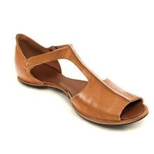 Women Peep Toe Sandals PU Gladiator Slip On Sandals