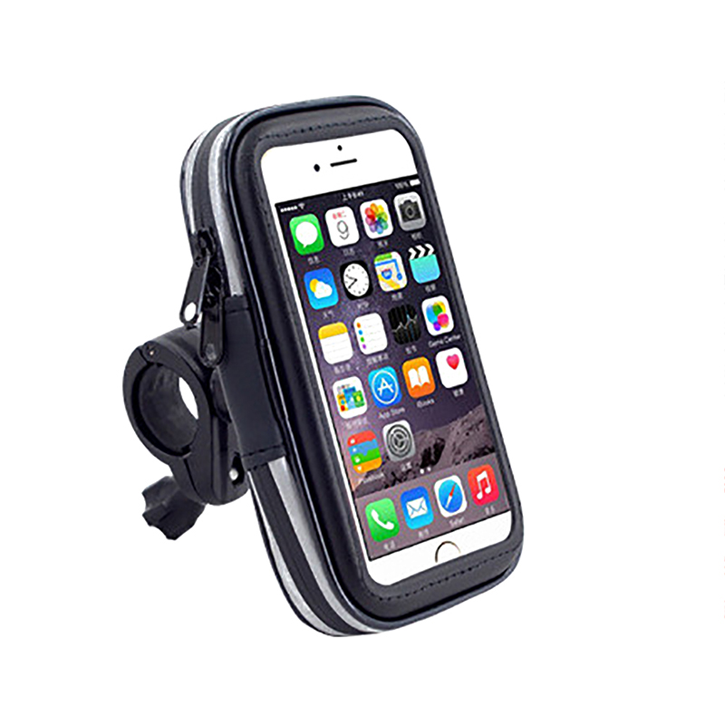 Bicycle Bags Panniers Outdoor Sports Cycling Bike Motorcycle Waterproof Bag Mobile Cell Phone Stand Holder Pouch Pack Smartphone