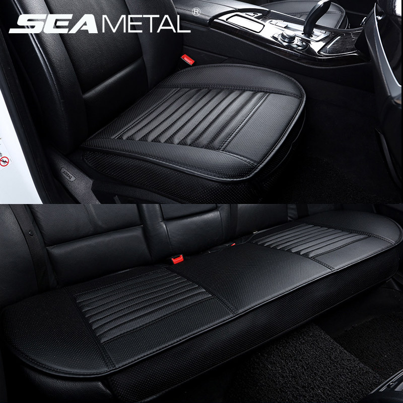 Automobiles Seat Covers Car Cushion PU Leather Universal Auto Interior Chair Mat