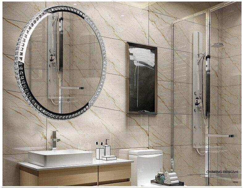 Ronde Spiegel Badkamer : Nieneng demist verlichte vanity make up verwarmde spiegel badkamer