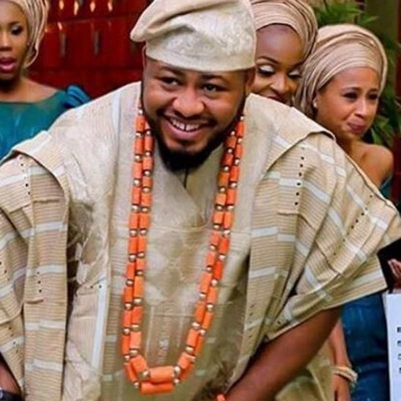 Dudo Bijoux Hommes Africains Perles de Corail Bijoux Ensembles Pour Nigérian Mariages Véritable Collier de Corail Ensemble Bracelet 2 Photos de Bateau Libre