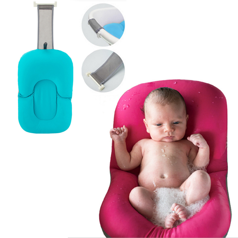 Newborn Anti Skid Bathing Mat Baby Thick Play Mat Bathtub