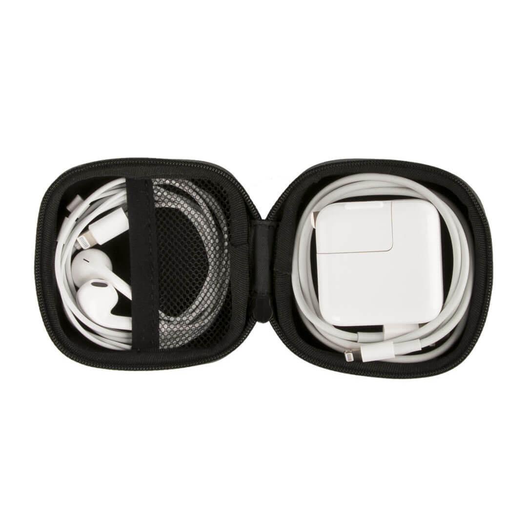 Image 3 - Xiaomi Портативный ЭВА сумка для хранения водонепроницаемый мешок для хранения для беспроводных наушников/кабеля/U диск/TF карты наушников Аксессуары-in Аксессуары для наушников from Бытовая электроника