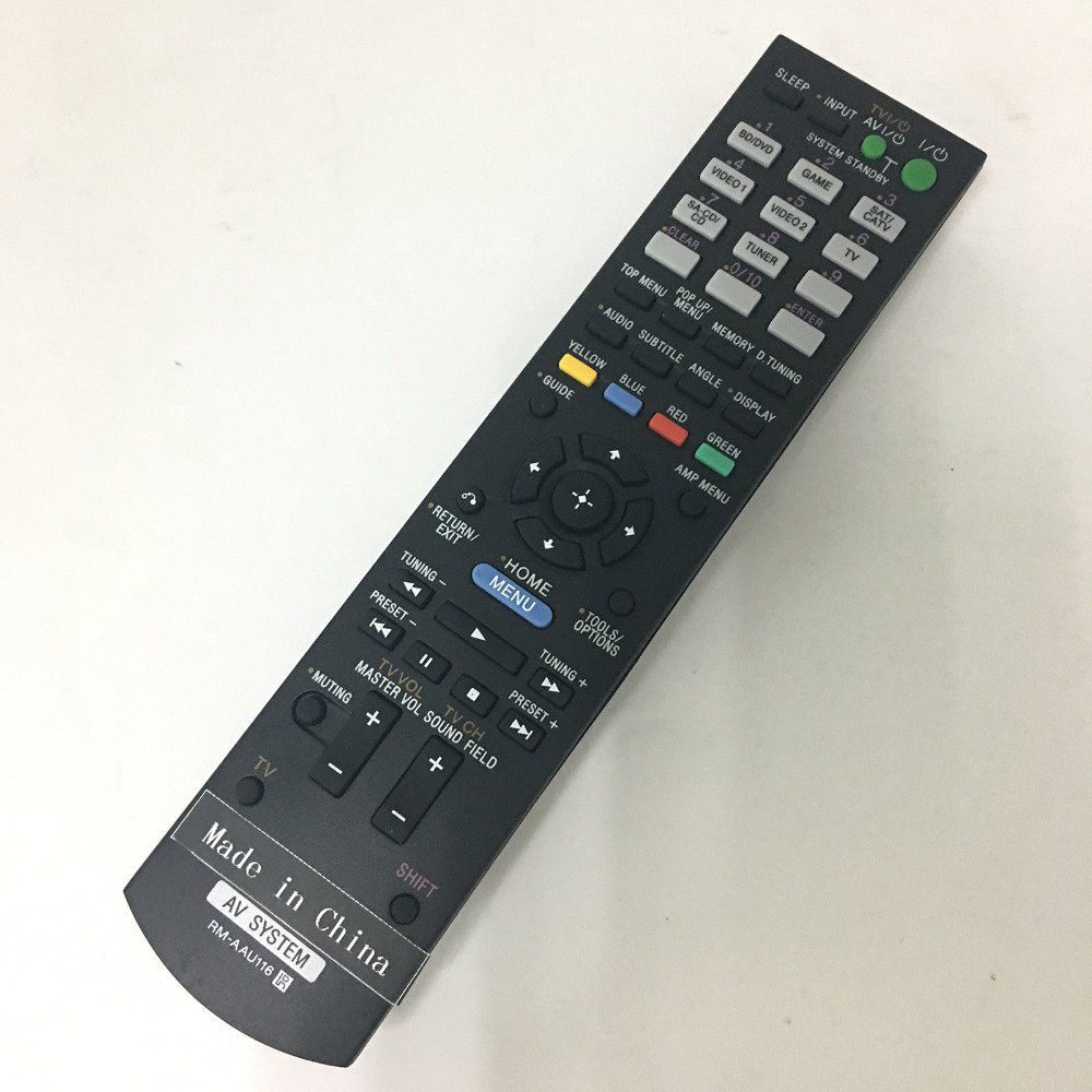 sony str dn860 black New Original Remote Control RM-AAU116 For Sony STR-DN850 STR-DH750 RM-AAU190 A/V AV Receiver System