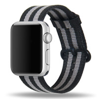 38mm Woven Nylon Band For Apple Watch 42mm Series1 2 Sport Edition Repleacement Strap For IWatch