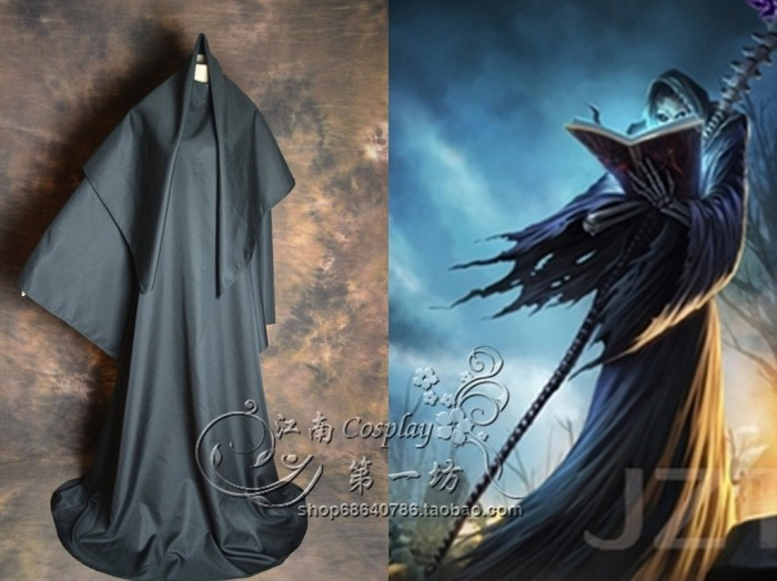 LOL Karthus Cosplay Costume the Deathsinger Cosplay Costume