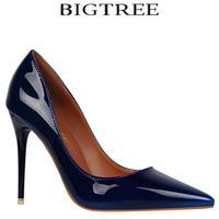 D H Brand Women S Shoes Sexy Gradient Color Nightclub High Heels Women Pumps Stiletto