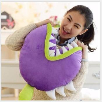 1pcs 45cm Plants vs Zombies Plush Toys Piranha Soft Stuffed Plusl Pillow Baby Doll for Kids Gifts image