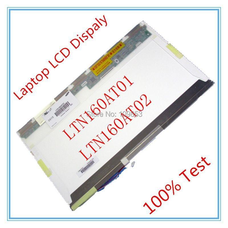 ФОТО 16'' Notebook lcd screen LTN160AT01 LTN160AT02 1366*768 LAPTOP LCD Display screen