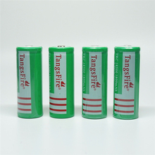 Wholesale 4 PCs Rechargeable tagsfire 18500 1800 mAh 3.7 V Li-ion battery for torch