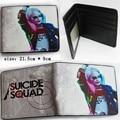 Hot DC Movies Suicide Squad The Joker Harley Quinn Enchantress And Batman Short Wallets Pocket Purse Money Bag