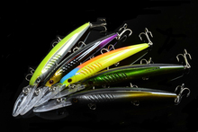 1Pcs Classic Minnow Fishing Bait Hard Lures 14.5cm/12.7g Wobblers Artificial Swimming Bass Isca For Lake River