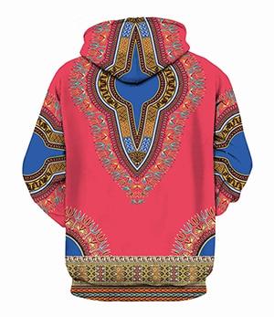 Dashiki Pullover Hoodie
