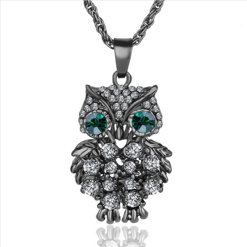 ახალი ბრენდის Charms Owl - მოდის სამკაულები - ფოტო 4