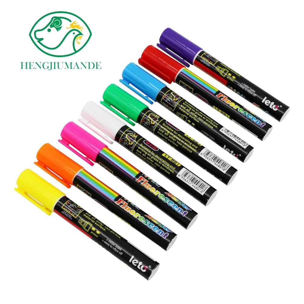 1 Pcs Queen Bee Marking Marker Pen Set 8 Color Beekeeping And Bees Tools Queen Mark Plastic Marks Pen Bee Tools Liquid Chalk