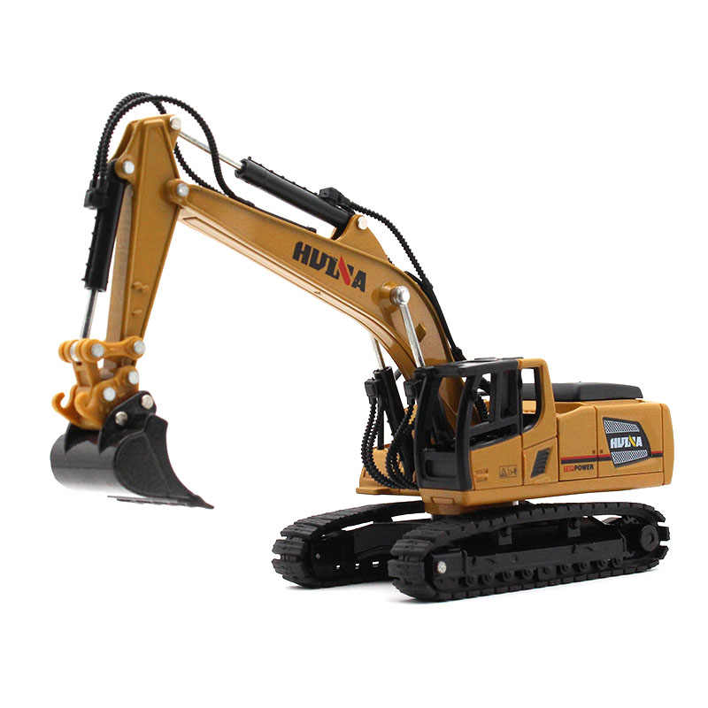 1:60 Diecast Alloy car model Excavator Engineering series Beautiful workmanship kids toys Give your child the best gift