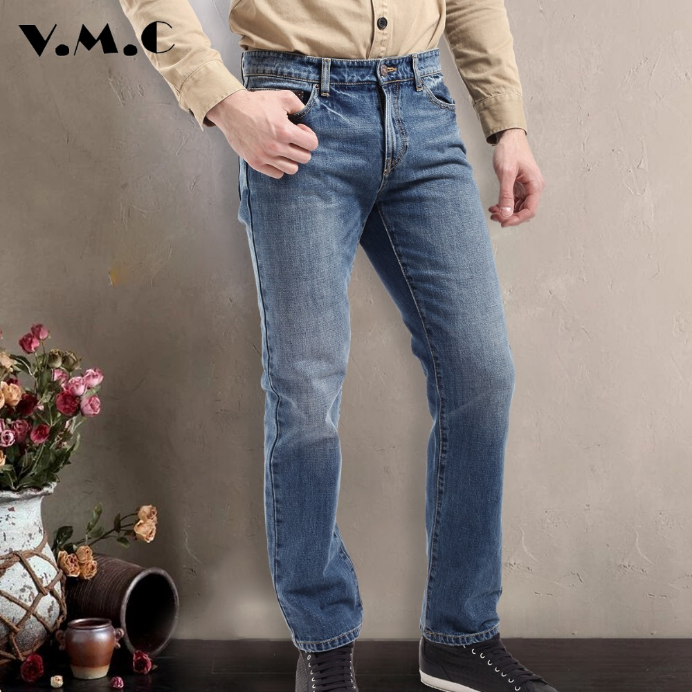 Men's Jeans Men Denim Pants New 2017 Spring Summer Fashion  Mid Men's Dark Blue,Blue and Black Pants Men Cotton Trousers  free shipping new spring and summer fashion men s denim jeans slim wear white pantyhose feet